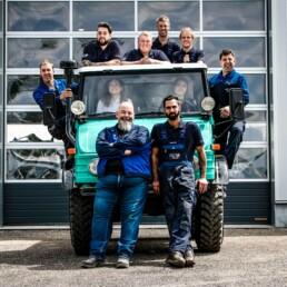 ROTH Nutzfahrzeuge - Mehr als nur ein Team bei ROTH - roth nutzfahzeugwerkstatt Werkstatt Team albstadt 1 uai