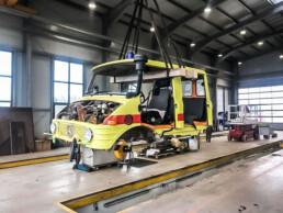 ROTH Nutzfahrzeuge - Ein sehr spannendes Projekt geht zu Ende - roth nutzfahrzeuge auto haengt uai
