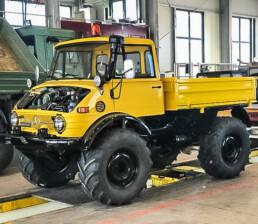 ROTH Nutzfahrzeuge - Fahrzeugrestauration jeglicher Unimogtypen - roth nutzfahrzeuge werkstatt gelbertruck uai